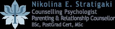 Νικολίνα Ε. Στρατηγάκη – Ψυχολόγος – Ψυχοθεραπεύτρια – Σύμβουλος Γονέων & Ζευγαριών